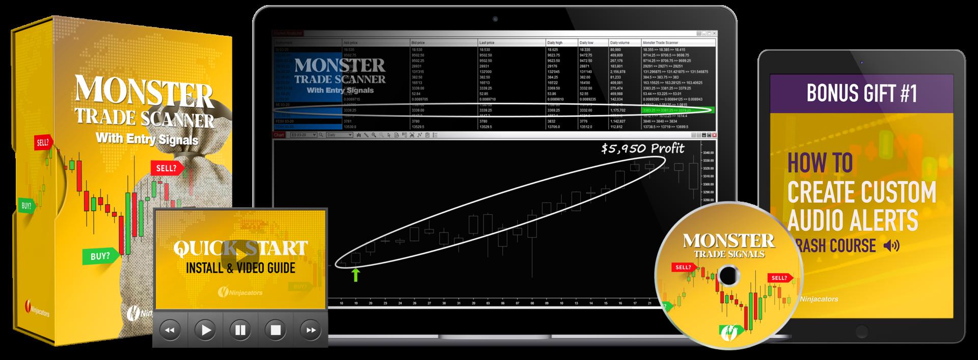 Monster Trade Scanner