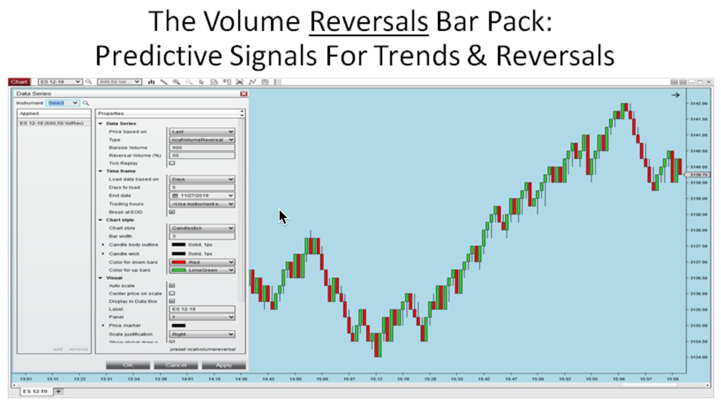 The Volume Reversals Bar pack